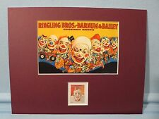 Honoring the Ringling Brothers Circus and the Circus Clown  stamp