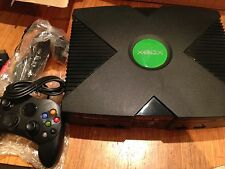 Original Xbox Consola 160gb Disco Duro - 1 Pad & conduce completamente cargado de más de 7000+