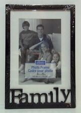 "FAMILY  Picture Frame 4"" x 6"" ( NEW )"