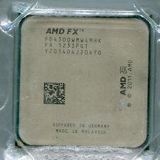 AMD FX-4300 FD430WMW4MHK 3.8 to 4.0 GHz quad-core socket AM3+ CPU 95W Vishera