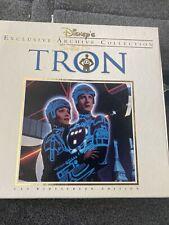 Disney Exclusive Archive Collection TRON LaserDisc CAV Widescreen Edition in Box