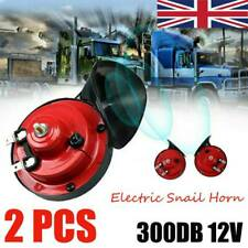 2X 300DB 12V Super Loud Train Electric Horn For Car Truck Bus Boat Motorcycle UK