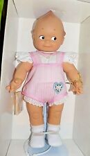 "Cameo Kewpie Doll By Jesco Rose O'Neill 16"" Vinyl w/tag 2002 Pink Romper"