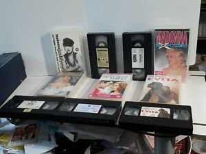 Madonna Vhs Tapes By 5 Lot 2