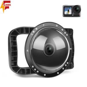 6'' Dual Handheld Dome Port Waterproof Diving Housing Case Cover for DJI Osmo