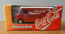 1996 Ertl Grumann Step van Coca Cola 1:43 scale coin bank