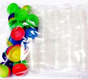 "48 pcs 1"" EMPTY VENDING CAPSULES for GUMBALL MACHINE Bulk Toys Party Favors"