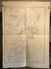 Vietnam French Indochina Navigational Chart / Hydrographic Map # 2565 Cam Ranh