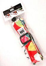 All-In-One Ukulele Hug Strap® - Tropical Floral Red - Uke Soprano Concert Tenor