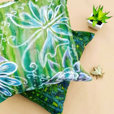 DESIGNER BRAND: Limited Edition Hand Painted Silk Cushion