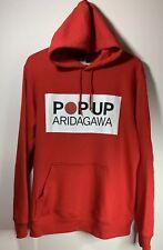 Portland x Japan Pop Up Aridagawa PDX Box Logo Pullover Hoodie L