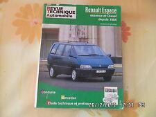 RTA RENAULT ESPACE ESSENCE ET DIESEL DEPUIS 1984 EDITION DE DECEMBRE 2005   J8