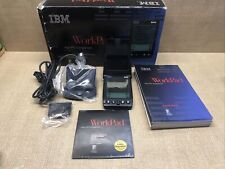 IBM Workpad 8602-20X PDA Manuals Software Stylus Excellent Condition IOB VGC