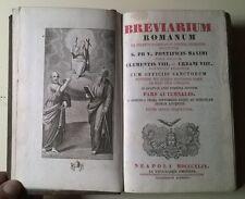 Breviarum Romanum ex Decreto Sacrosanti Concilii tridentini - 1849 - L