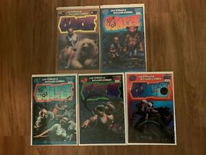 Son of Mutant World  #1 #2 #3 #4 #5 VF FULL Set/Richard Corben/Jan Strnad 1986 c