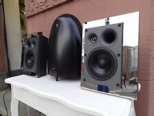 Aktives 200W- Lautsprechersystem Michael Jackson Subwoofer m. Sherwood Boxen 2.1