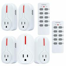 Wireless Remote Control Outlet, Kasonic Smart Home Remote Control Combo Set