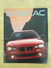1993 Pontiac Full Line Up Brochure 16 Pages
