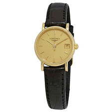 Longines Presence Champagne Dial Ladies Watch L7.490.6.32.0