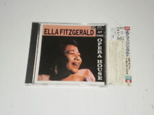 ELLA FITZGERALD - ELLA AT THE OPERA HOUSE - JAPAN CD W/OBI 1990 NM/NM - POCJ1810