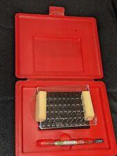 Starrett Precision Steel Pin Gage Set S4000 060