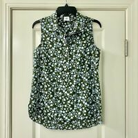 CAbi Medium Keepsake Flower Sleeveless Top #3614