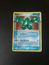 Pokemon Regice Gold Star Ex Legend Maker 90/92 English Ultra Rare No Shining PSA