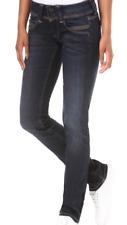 0018 Women  Pepe Jeans  navy dark blue Low Waist Stretch Straight  W26 L34