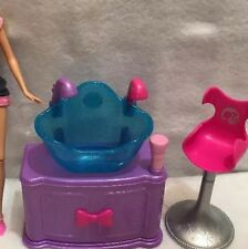 Barbie Doll Hairtastic Color Wash Salon Doll Chair Sink 2010 Replacement Sink