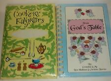 2003 Self Published Family Cookbook and 1980s Vintage Photos style Recipe saver