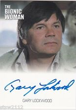 THE COMPLETE BIONIC COLLECTION GARY LOCKWOOD LYLE CANNON AUTOGRAPH VL WOMAN