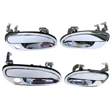 Fits Left & Right Set of 4 Pcs Outer Door Handles Chrome For Holden Monaro VT VX