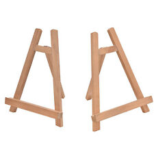 19.5*28cm Wood Cafe Table Number Easel Wedding Place Name Card Holder Stand X