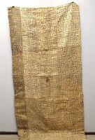 Kuba Cloth African Natural Woven Raffia Fabric Congo Decorative Women Skirt