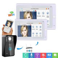 "7"" WiFi Wireless Video DoorPhone intercom Doorbell IP Camera PIR IR Night Vision"