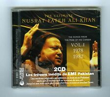 2 CDs (NEW) ULTIMATE NUSRAT FATEH ALI KHAN VOL 1 (1978>1982)