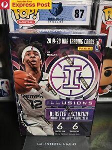 2019-2020 PANINI NBA BASKETBALL ILLUSIONS BLASTER BOX 6-PACK *FACTORY SEALED*