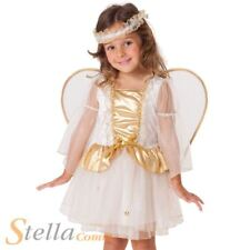 Girls Angel Toddler Costume Christmas Nativity Fairy Fancy Dress Outfit