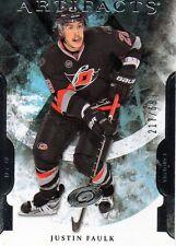 Justin Faulk 11/12 Artifacts Hockey RC #206