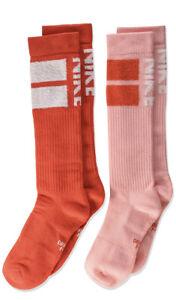 Nike Kids Youth Swoosh Cushion Knee High Over The Calf Socks Medium M 5Y-7Y