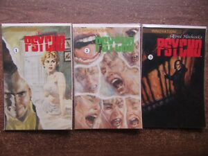 PSYCHO Comic Books - Complete Set