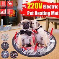 40x40cm Cat Dog Pet Electric Pad Blanket Heat Heated Heating Mat Waterproof  50℃