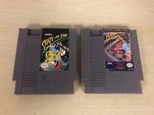 Skate or Die 1 & 2 Nintendo NES Game Lot of 2 Original Carts