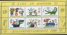 Nederland NVPH 1930 Vel Kinderzegels 2000 Postfris
