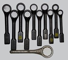 11 Heavy Duty Offset Handle Striking Face Box Wrenches