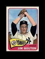 1965 Topps Baseball #30 Jim Bouton (Pirates) EXMT