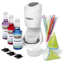 Electric Snow Cone Machine - Easy To Use - THE BEST - by Hawaiian Shaved Ice