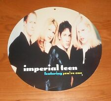 """Imperial Teen You're One Poster Mobile Flat Display 2-Sided Original Promo 12"""""""