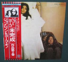 John Lennon Unfinished Music No 2 Life With Lions LP OBI Japan Zapple NM