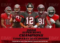 Tampa Bay Buccaneers Super Bowl 55 Champions Card. Limited. Tom Brady! ACEO